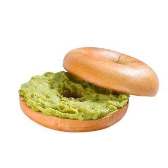 Smashed Avocado Bagel