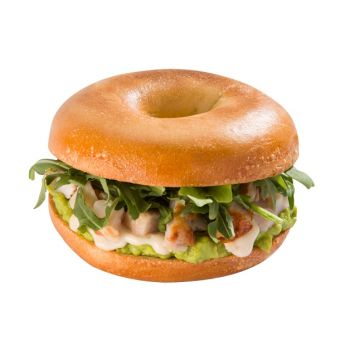 Chicken & Avocado Bagel
